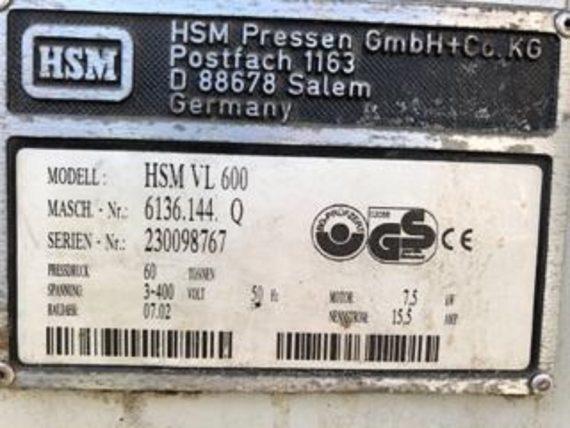 HSM VL600 3