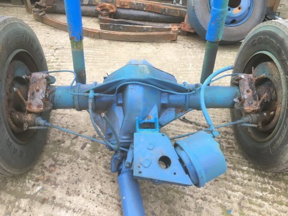bedford : awd axle