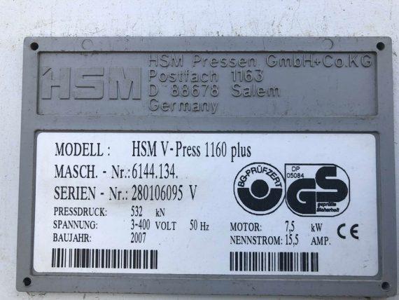 HSM VPRESS 1160 6